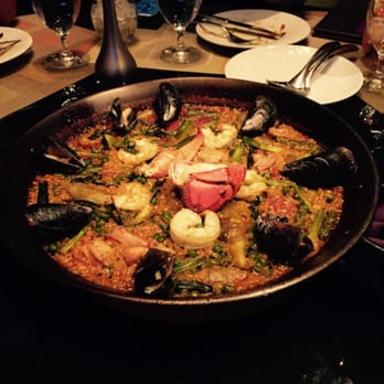 Serrano - Mixed paella - chorizo, mussels, shrimp, chicken, lobster ...