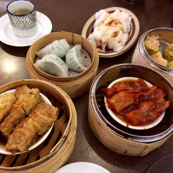 HK Dim Sum - Seattle, WA, United States. Dim sum- the chive dumplings ...