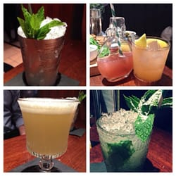 A selection of Rick's great new cocktails!