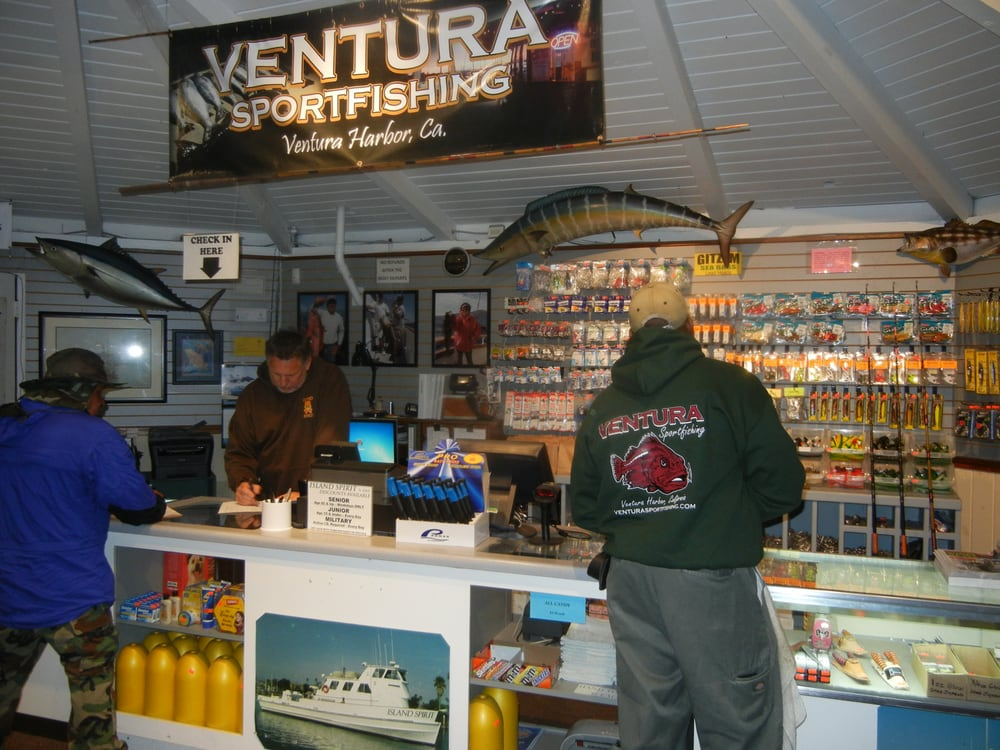 Ventura landing tackle shop also where you check in and for Ventura sport fishing
