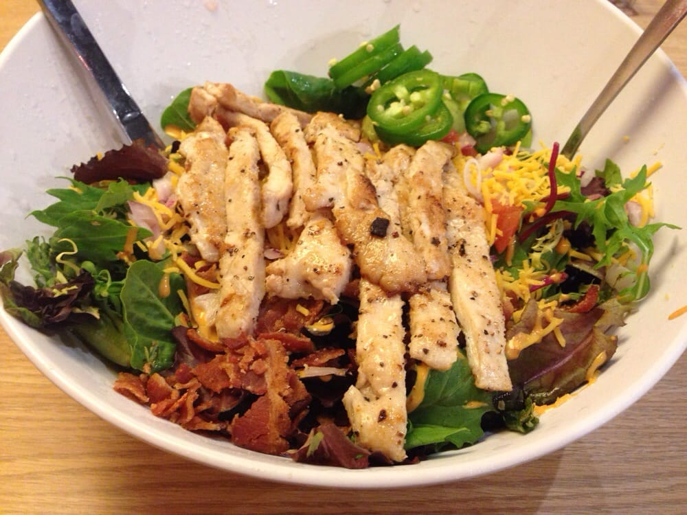 Baja Chicken Salad Baja Cobb Salad With Chicken