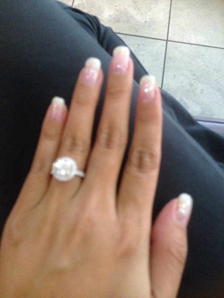 Gel manicure on real nails, I love that natural glow (even when they