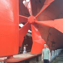 Bottom of the ship