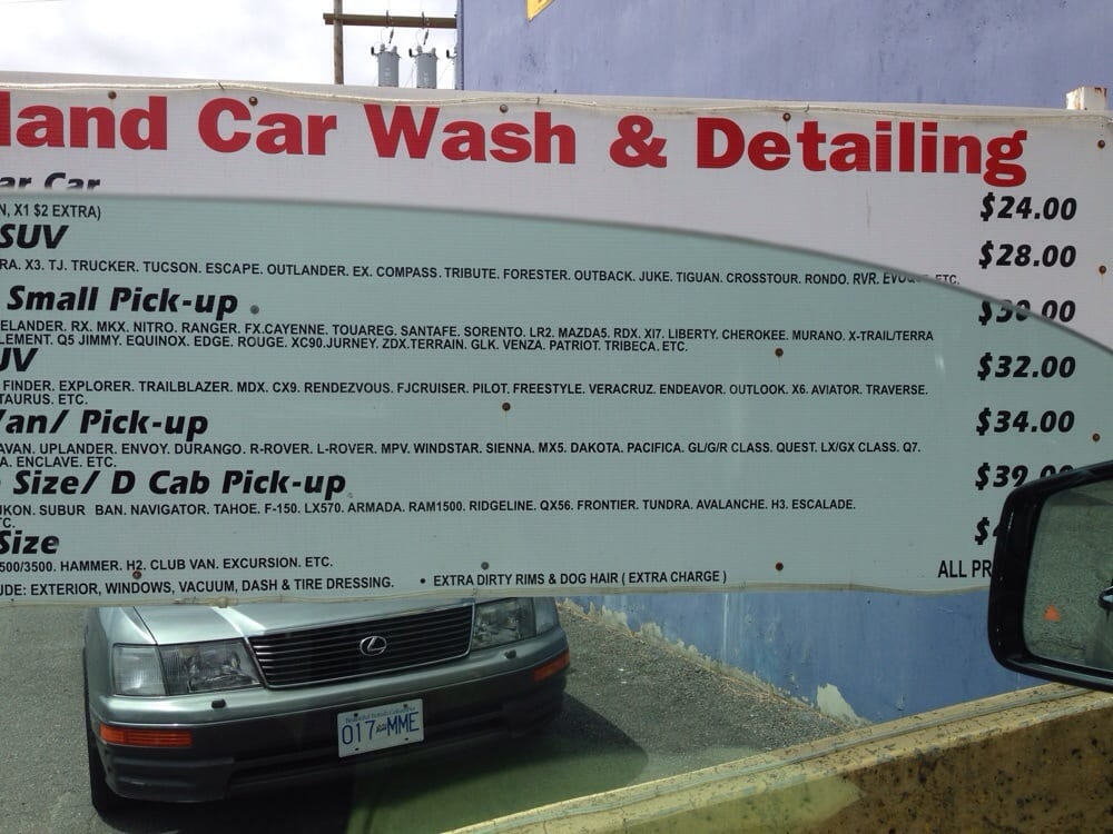 Car Wash Detailing Richmond Bc