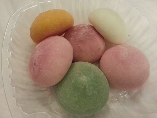 Chocolate Mochi Ice Cream Mochi Ice Cream