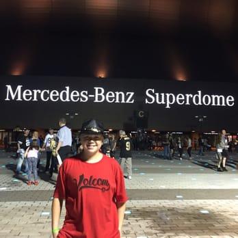 Mercedes benz superdome 393 photos 146 reviews for Mercedes benz superdome layout