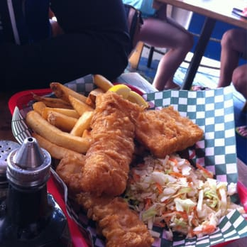 Dock s fish chips seafood restaurants white rock bc for Docks fish menu