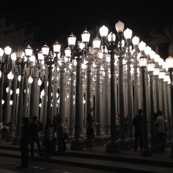 Urban Light at LACMA - Los Angeles, CA, United States. 07.2014