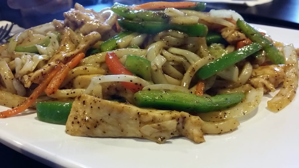 Pepper Steak Stir Fry Black Pepper Sauce Stir Fry