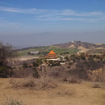 Hellman Park - Whittier, CA, États-Unis. The pagoda?