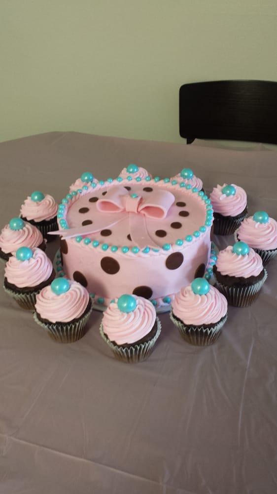 goodies costa mesa ca united states baby shower cake n cupcakes