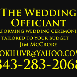 The Wedding Officiant Of Myrtle Beach