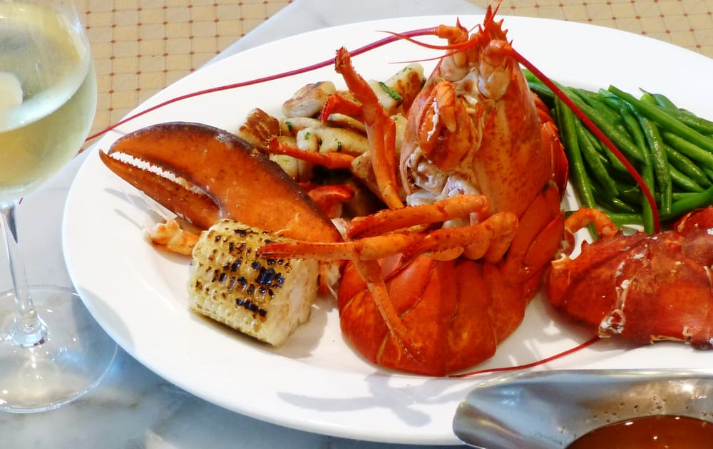 Bistro Versailles & Patisserie - Greenwich, CT, United States. Steamed Lobster