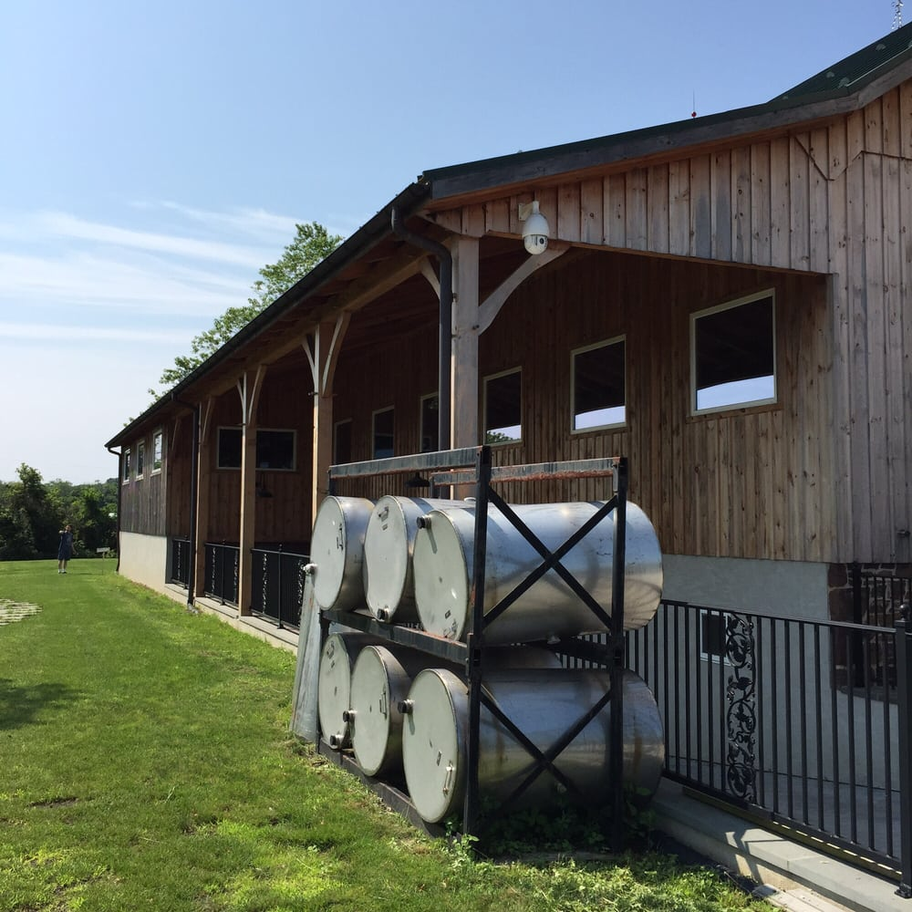 The Barn Where They Ferment The Wine.