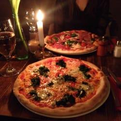 Pizza Parma & Spinat Gorgonzola