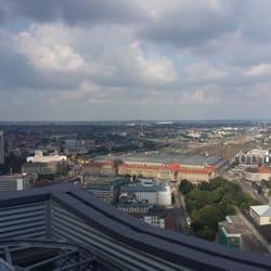 Panorama Tower, Leipzig, Sachsen