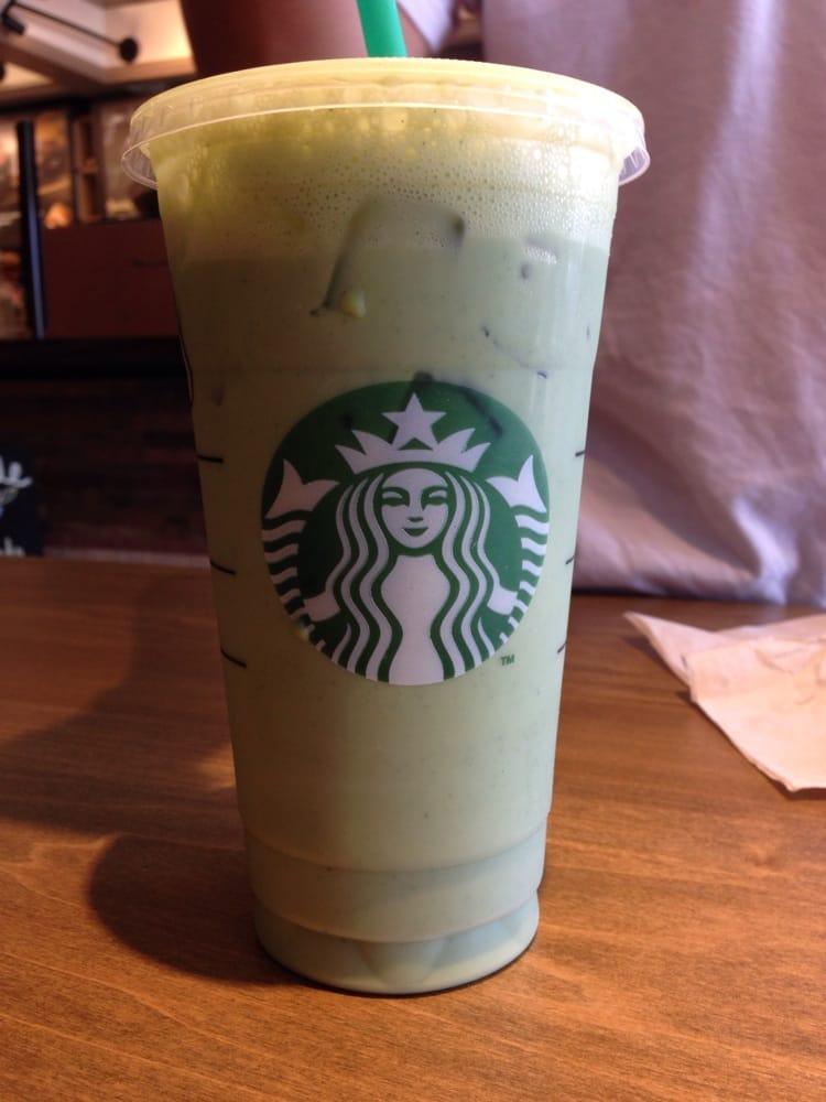 Venti iced green tea latte | Yelp