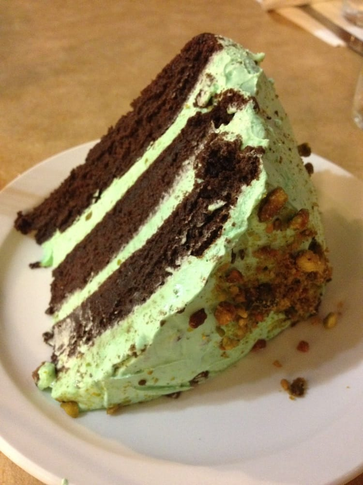 ... States. Renate's Incredible Chocolate Pistachio Cake is so moist