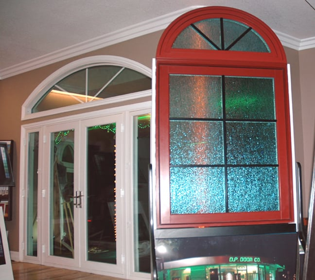 West wall with milgard essence wood fiberglass window and for Milgard fiberglass windows reviews