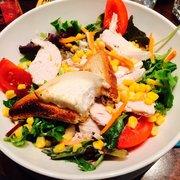 Café Jade - Paris, France. La Chicken Cheese salad fresh, generous & great value :)