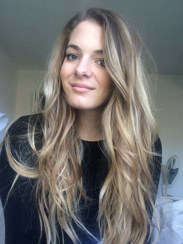 Super Natural Looking Balayage Highlights By Erin Front