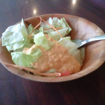 UMI Japanese Steakhouse - Swansea, MA, États-Unis. Small Salad