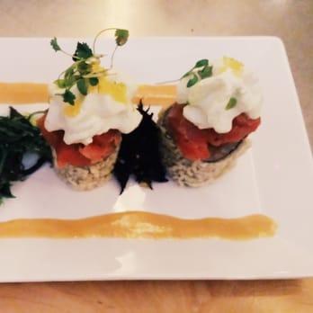 Flying Fish Cafe - Yellowfin Tuna Tartare and Crispy Tempura Tuna ...