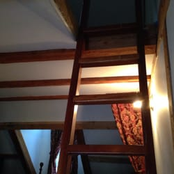 The Austing Haus - Taos Ski Valley, NM, États-Unis. The ladder to the loft.