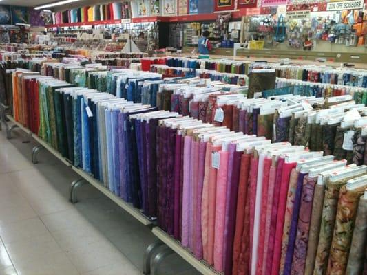 Jenny s fabrics 11 photos fabric stores fountain for Joann craft store near me