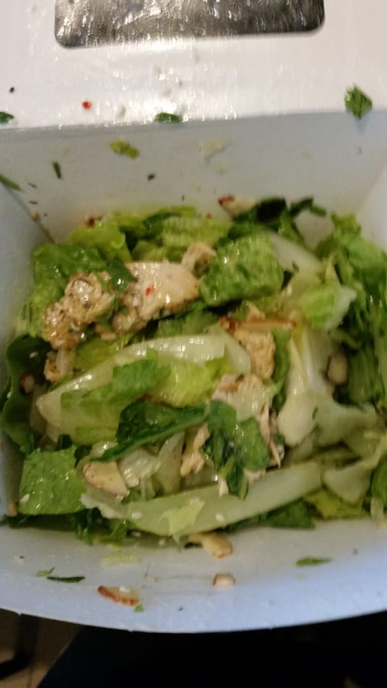 Sesame Chicken Salad Dressing Asian Sesame Chicken Salad
