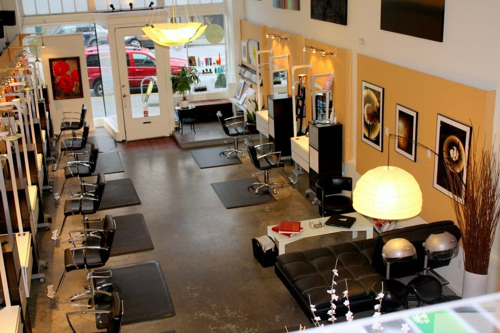 The loft salon 18 photos hair salons denny triangle for Salon seattle