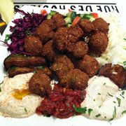 falafel platter!! Delicious
