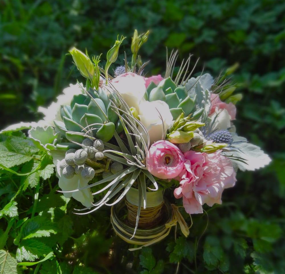 Bridal Bouquet Tree Bridal Bouquet With Succulents
