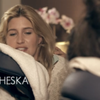 Cheska from Made in Chelsea enjoying our Jade-Bamboo Massage