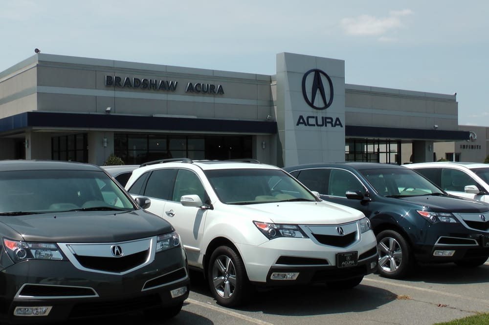 Bradshaw Acura On The Motor Mile In Greenville Sc Yelp