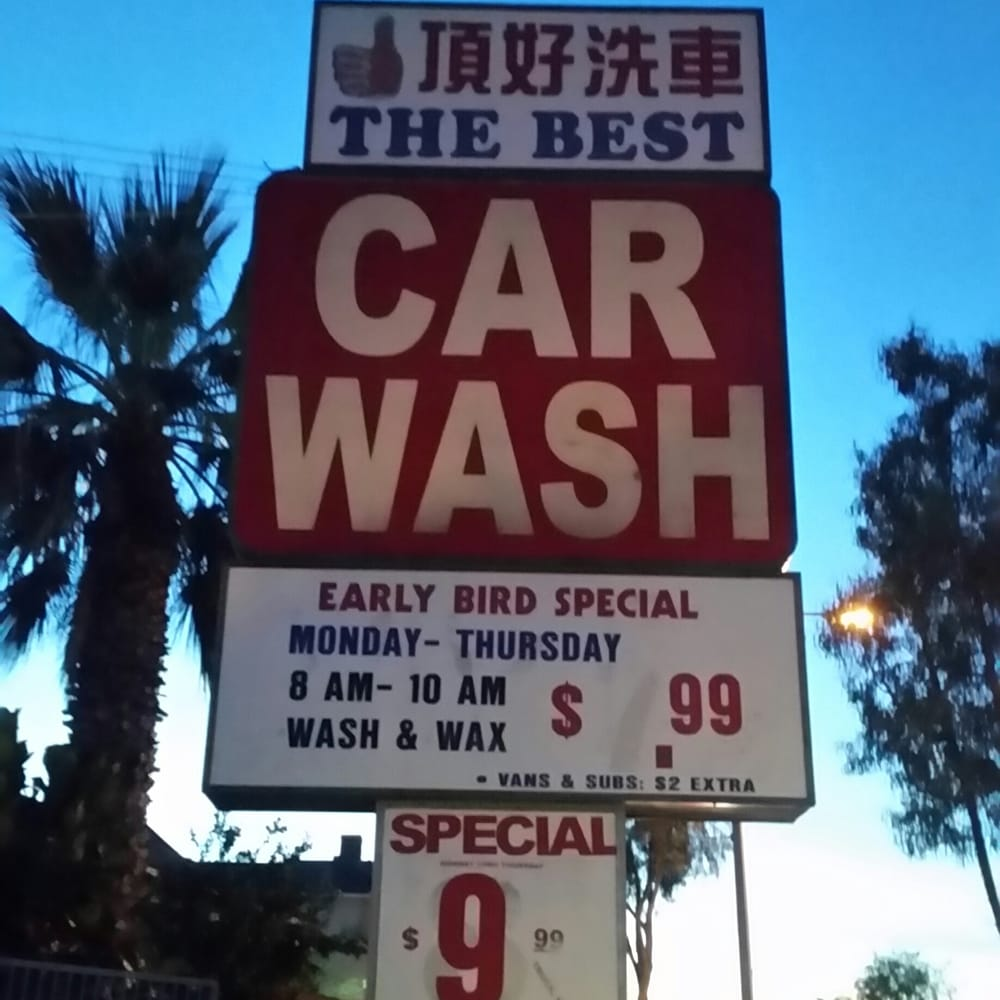 Valley Hand Car Wash Rosemead Ca