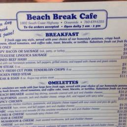 Beach Break Cafe Oceanside Ca United States