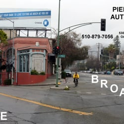 Piedmont Auto Care - Oakland, CA, États-Unis. Just 1 Block up from College and Broadway.