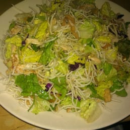 Ginormous Asian chicken salad