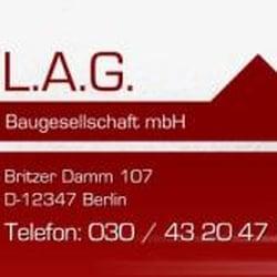 L.A.G Baugesellschaft mbH, Berlin