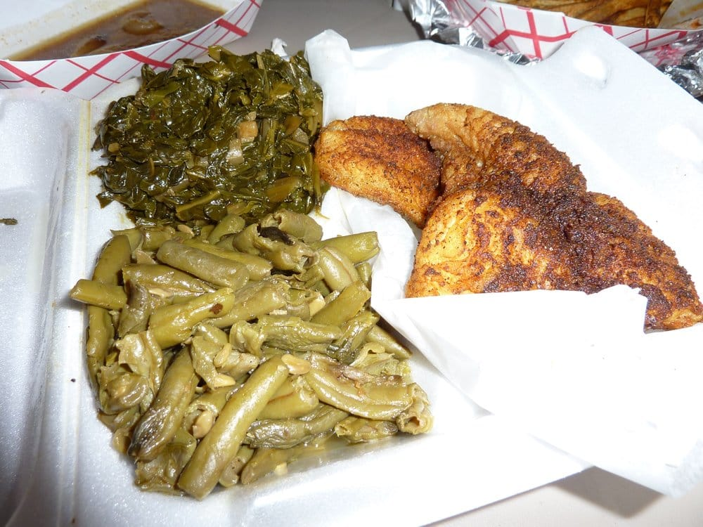 Fried Catfish And Greens Recipes — Dishmaps