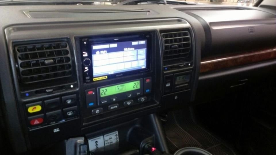 Custom Dash By Randy Blackburn 02 Land Rover Discovery