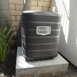 O C Breeze Heating & Air Conditioning - Capistrano Beach, CA, États-Unis. Another of our new Maytag 13 SEER unit installed by OC Breeze.