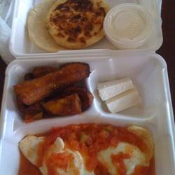 Los Pinos Mexican Restaurant & Grill - Huevos ranchero - Boston, MA, Vereinigte Staaten
