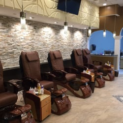 Lux nails nail salons oxford ma photos yelp for Nail salon oxford