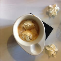 coffee with ice cream