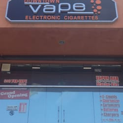 Electronic cigarette London shops