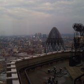 View of 'The Gherkin' top from Vertigo