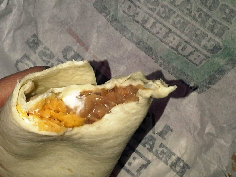 Bean And Cheese Burrito Del Taco   Bean  amp Cheese Burrito