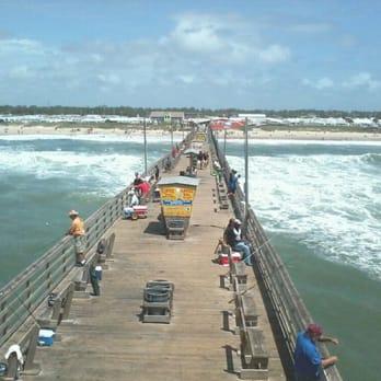 Bogue inlet fishing pier live cam for Galveston fishing pier cam